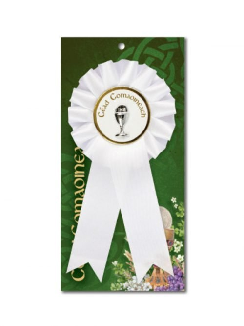 Gaelic First Holy Communion Rosette
